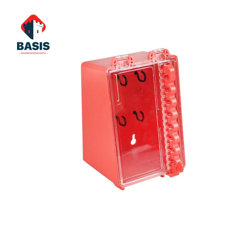 Стационарный Lock-бокс из инженерного ABS пластика, красный