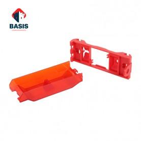 Блокиратор настенного выключателя, длина 120 мм, ширина 45 мм, толщина 26 мм