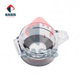 Блокиратор аварийной кнопки, высота 31,9 мм, ширина 49,6 мм, посадочный диаметр 22 мм