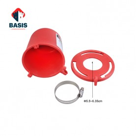 Блокиратор штока вентиля (диам. обжимного кольца 55 мм -  63,5 мм)