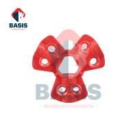 Блокиратор быстросъемных соединений пневмомагистралей диаметром 6.4/9,5/12,7 мм