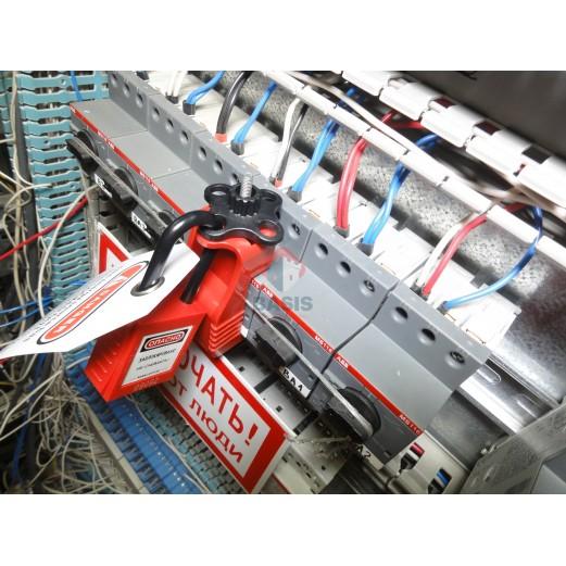 Блокиратор выключателей автоматических типа MS116