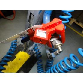 Блокиратор запорной арматуры/шарового крана (диам. трубы 12,5 мм — 37,5 мм)