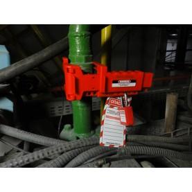 Блокиратор запорной арматуры/шарового крана удлиненный (диам. трубы 13 мм — 72 мм), с упором