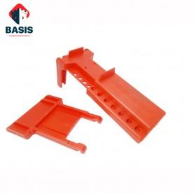 Блокиратор запорной арматуры/шарового крана удлиненный (диам. трубы 13 мм — 72 мм), Г-образный